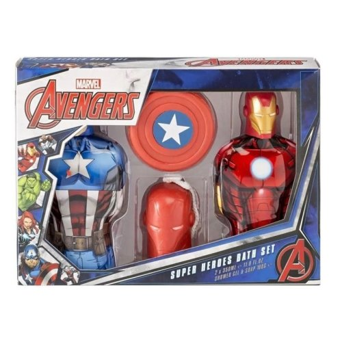 Marvel Avengers Super Heroes Bath Set