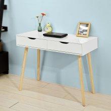 SoBuy® FWT40-WN, Home Office Table Desk Computer Desk Computer Workstation