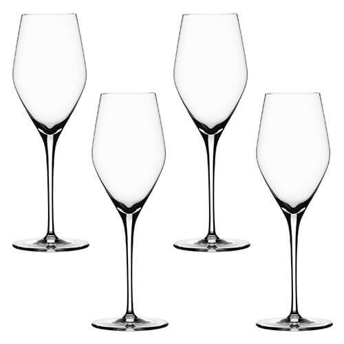Spiegelau Prosecco Special Glasses, Clear, Set of 4