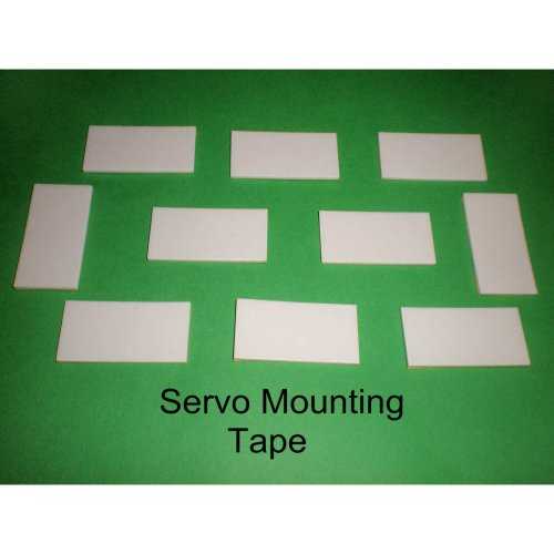 3D Double Sided Mounting Tape Servo Tape x 20 pieces Good Quality 19 x 38mm