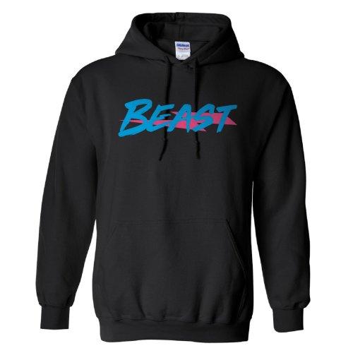 Mr Beast Blue Logo Kids Hoodie