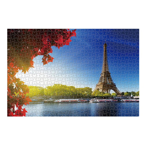 1000PCS Wooden Jigsaw Puzzle  Adult/Children's Games Toys Eiffel