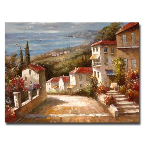 Home in Tuscany Artwork by Joval 24 by 32 Inch Canvas Wall Art