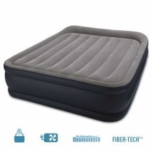 Intex 64136 Inflatable Double Mattress with Extra Height and Pump