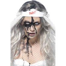 473.17ml/16 Us Fl.oz Black Zombie Gel Blood Bottle. - Bottle Fancy Dress -  zombie gel blood bottle fancy dress halloween black smiffys costume