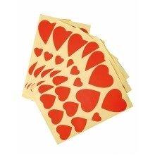 Pbx2550007 - Playbox - Hearts (red) - 15, 25 & 35mm - 220 Pcs