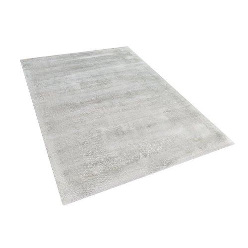 Area Rug Viscose 160 x 230 cm Light Grey GESI