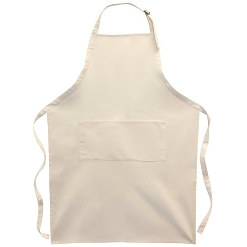 "Canvas Corp Twill Large Adult 2-Pocket Apron 25""X35""-Natural"