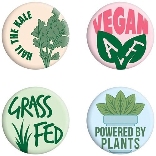 Grindstore Hail The Kale Badge Pack