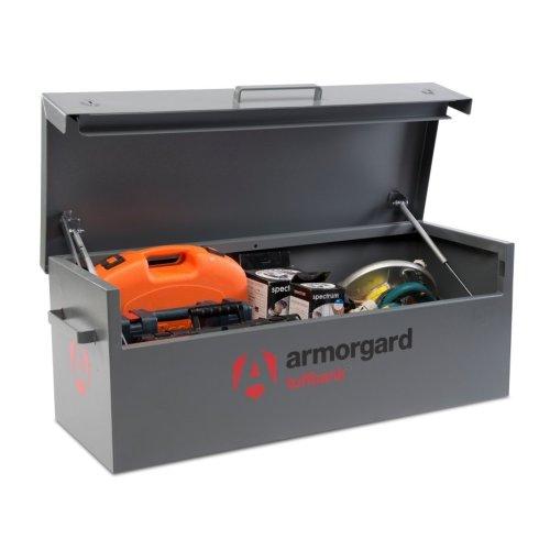 Armorgard TuffBank TB12 Secure Truck Van Vault Storage Safe Box 1275x515x450mm