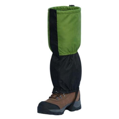 Green Sports Hunting Gaiters Waterproof Binding Podotheca Shoe Gaiters [1 Pair]