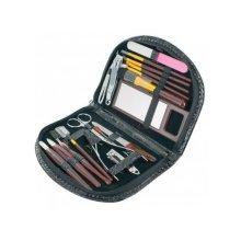 Nail Care 18 Piece Cutter Cuticle Clipper Manicure Pedicure Kit Case Gift Set