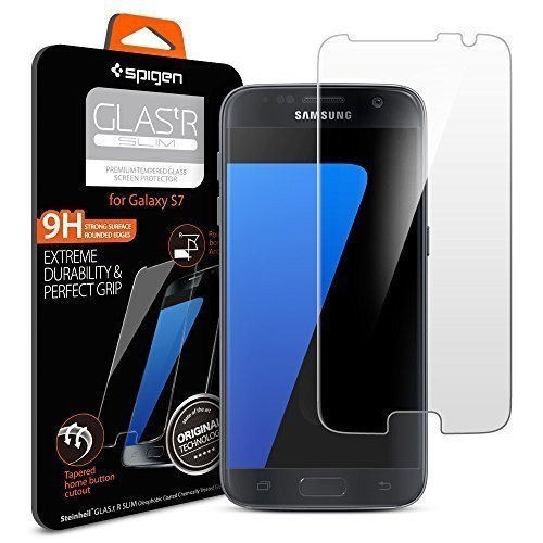 Spigen Samsung Galaxy S7 Tempered Glass Screen Protector - Clear