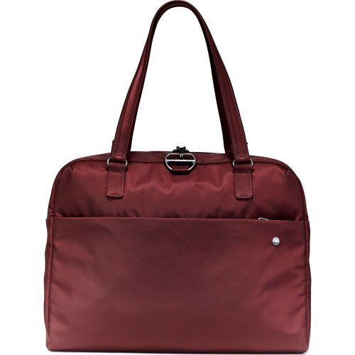 Pacsafe Citysafe CX Anti-theft Slim Briefcase (Merlot)