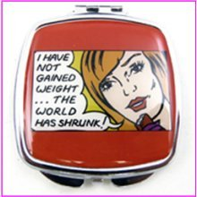 Gained Weight Compact Mirror