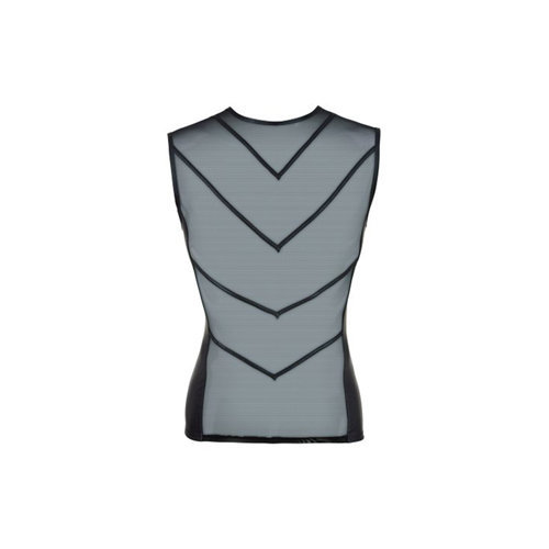 Mesh Shirt With Wetlook Medium Men's Lingerie Shirts - Svenjoyment Underwear