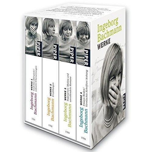 Werke 1 - 4: Gedichte/Hörspiele/Libretti/Übersetzungen . Erzählungen . Todesarten: Malina und unvollendete Romane . Essays/Reden/Vermischte...