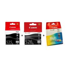 Canon PGI525 and CLI526 Multipack Ink - Black/Cyan/Magenta/Yellow