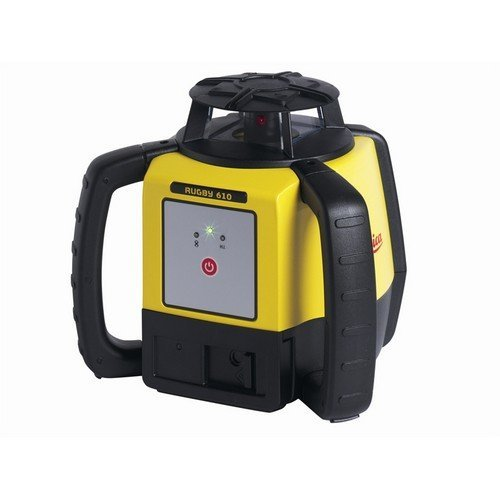 Leica Geosystems 6008610 Rugby 610 Rotating Laser Basic Li-Ion