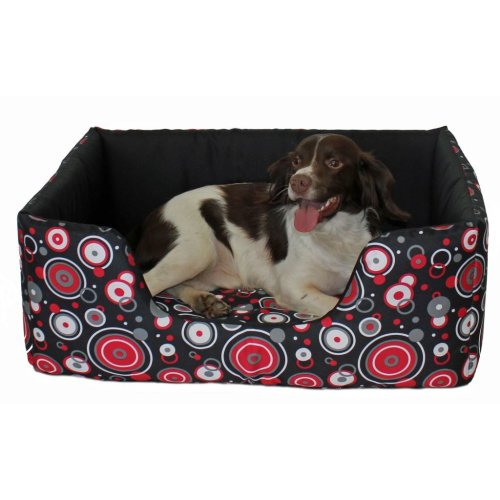 Apollo Comfy Bed Red Size 4 86x61cm