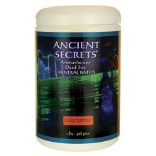 Ancient Secrets Dead Sea Bath Salts Unscented 2 Lbs