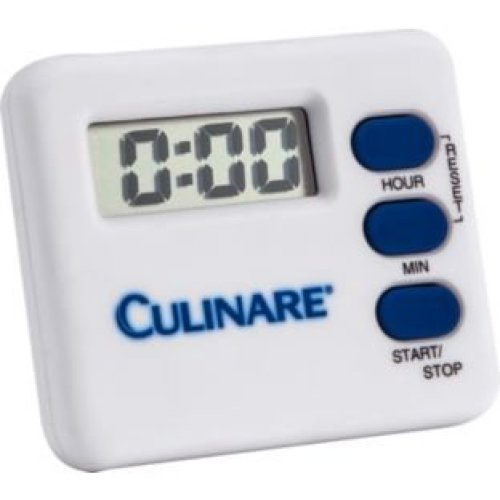 Culinare 20 Hour Digital Timer - Kitchen White Easy Read Loud -  timer culinare digital kitchen white easy read loud