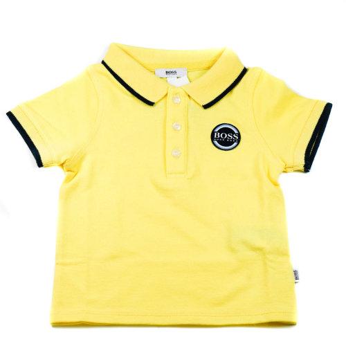 Hugo Boss Baby Polo T-Shirt Yellow