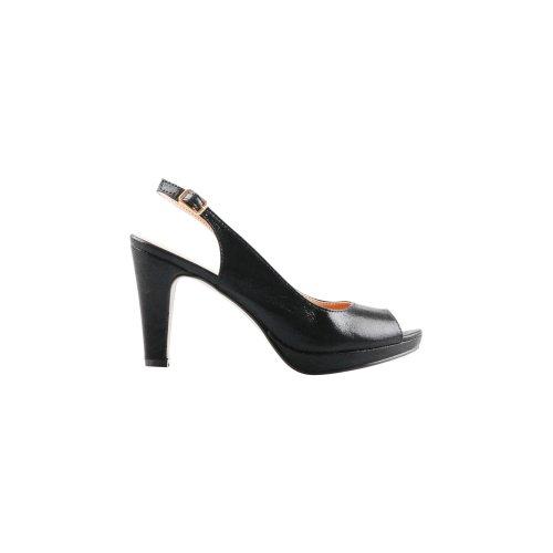 0d2d162902f Metallic Peep Toe Slingback Heels on OnBuy