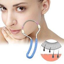 Facial Hair Remover Free Remover Epilator (A, Blue)