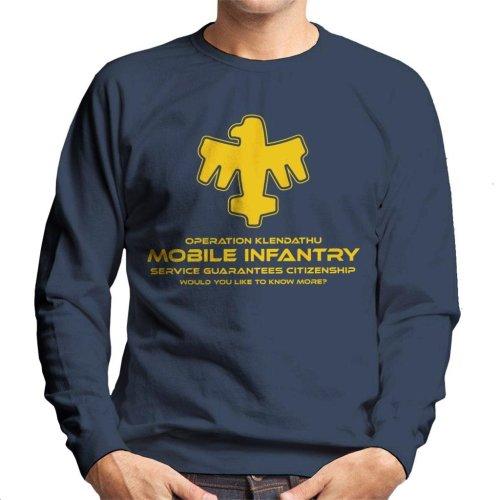 Operation Klendathu Starship Troopers Men's Sweatshirt