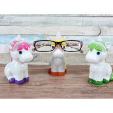 Unicorn Glasses holder Pink, Yellow & Green