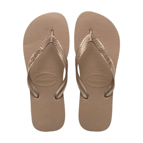 Havaianas Top Rose Gold Flip Flops UK 3-4