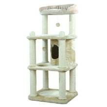 Trixie Belinda Scratching Post, 140 Cm, Beige - 47041 Tree Cats Tall Large -  scratching beige 47041 trixie tree belinda cats tall large multi post