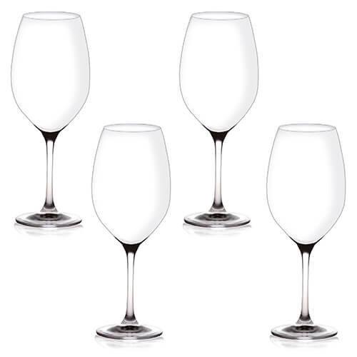 Judge Crystalline Set of 4 Red Wine Glasses 480ml