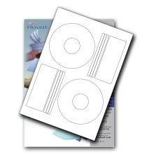 Hovat Matt Offset (PressIt Style) CD / DVD Labels