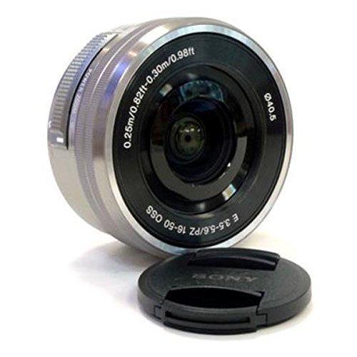 Sony SELP1650 16-50mm f/3.5-5.6 OSS Alpha Zoom Lens Silver