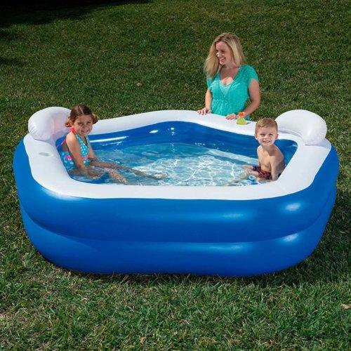 Bestway Kids' Play Pool Blue 213x207x69 cm 54153