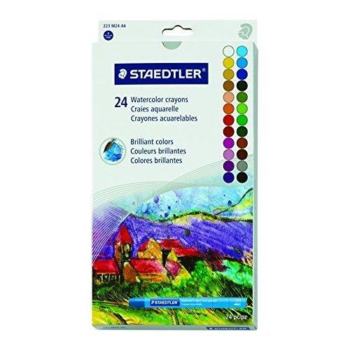 Staedtler Karat Aquarell Premium Watercolor Crayons 223M24