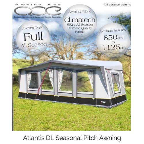Camptech Atlantis DL Traditional Seasonal Pitch Awning
