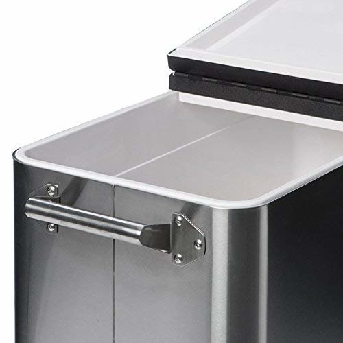 Trinity TXK 0806 Stainless Steel Cooler with Cover 80 qt