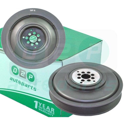 ENGINE CRANK SHAFT PULLEY DAMPER FOR AUDI A4 (B7) A6 (C6, C7) Q5 Q7 2.7 3.0 TDI