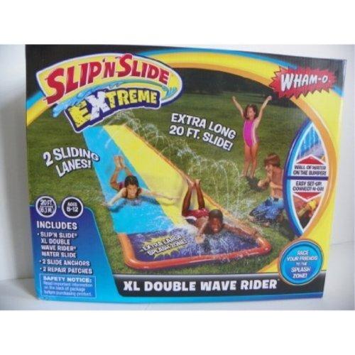 Wham-o Slipn Slide Extreme Xl Double Wave Rider
