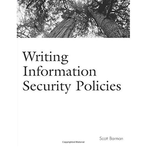 Writing Information Security Policies (Landmark)