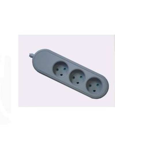 Microconnect GRU0035DK 3AC outlet(s) 5m Grey power extension