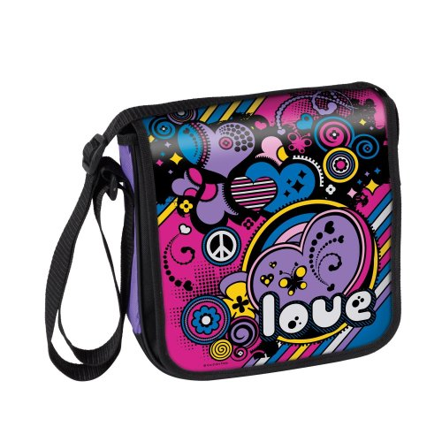 CRA-Z-ART Shimmer and Sparkle Colour Your Own Messenger Bag
