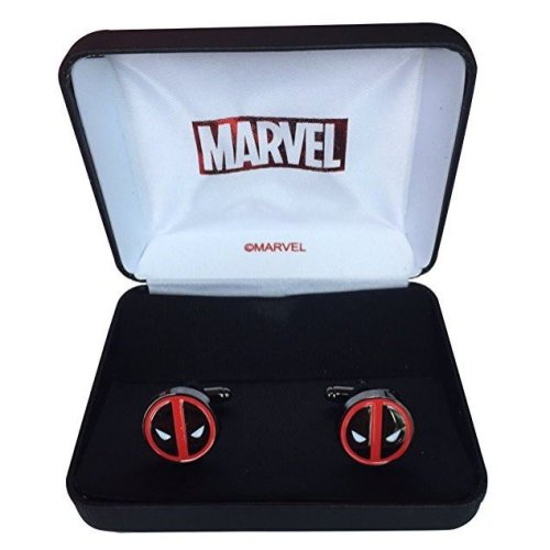 Official Marvel Deadpool Cufflinks & Gift Box