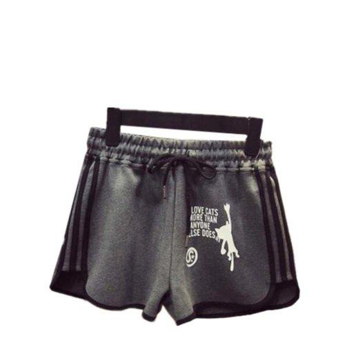 Women's Hot Active Wear Lounge Shorts Elastic Waist Gym Pants,#A 13