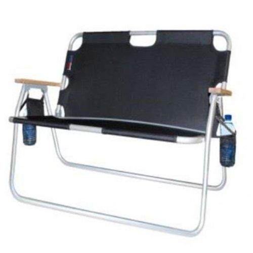 "Algoma Net 7717-22 37''W x 16""D Black Aluminium Tailgator"