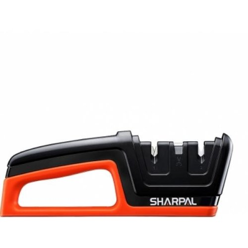 Sharpal Knife and Scissors Sharpener 3-in-1 Hand Tool W/ Tungsten Carbide Ceramic