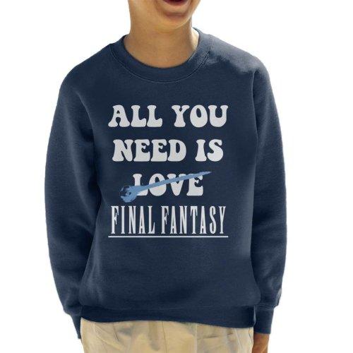 All You Need Is Final Fantasy Kid's Sweatshirt